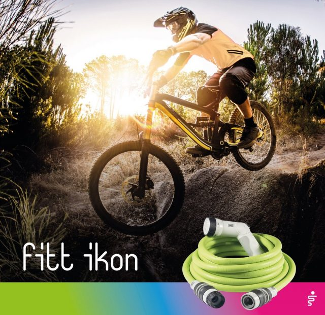 Also today a great track experience! Jumping, speeding and adrenaline rush.  But now your BMX is definitely going to need a good wash before putting away. FITT Ikon, it's your turn!  #FITT #FITTIkon #FITTcoloryourlife #FITTIkonexetendablehose #coloryourpassion #extendablehose #bmx #bmxlife #adrenalina #outdoorsport