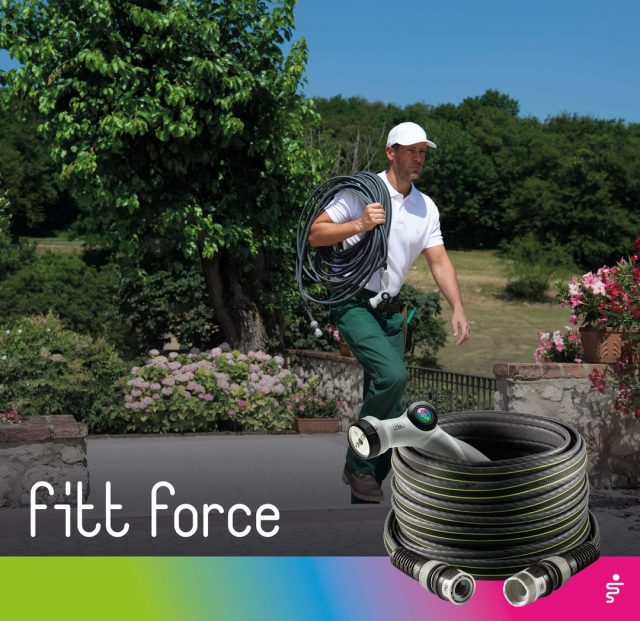 FITT Force will be the best ally for tackling your garden watering needs.  Its HD-TECH technology makes it resistant to punctures and abrasions, without compromising on lightness and ease of handling!  #FITT #FITTGardeningIdeas #FITTForce #poweyourjob #gardeninglife #watering #citygardening #gardeningtips #gardeninglove #gardeningisfun #gardeningismytherapy #gardeningknowhow #gardeninggoals #gardeningmeakesmehappy