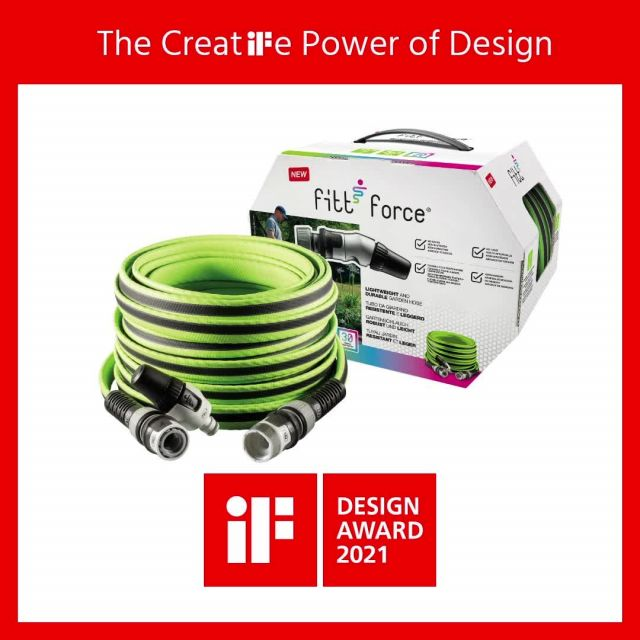 FITT Force never ceases to amaze and wins once again the @ifdesign AWARD 2021! 🏆 FITT Force has again managed to win one of the most renowned international awards for product design, this time in its new version with compact nozzle.  #FITT #FITTGardeningIdeas #FITTForce #poweryourjob #ifdesignaward #ifdesignaward2021 #ifdesignaward2021winner #gardeninglife #watering #citygardening #gardeningtips #gardeninglove #gardeningisfun #gardeningismytherapy #gardeningknowhow #gardeninggoals #gardeningmeakesmehappy
