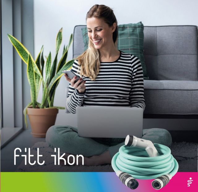 Always in line with the latest trends, even when it comes to #green. 🍃 Here's a must-have purchase: FITT Ikon in the most elegant colour, Aquamarine.  #FITT #FITTGardeningIdeas #FITTIkon #FITTcoloryourlife  #FITTIkonextendablehose #coloryourpassion #extendablehose #watering #aquamarine #greentrend #gardeninglife #citygardening #gardeningtips #gardeninglove #gardeningisfun #gardeningismytherapy #gardeningknowhow #gardeninggoals #gardeningmeakesmehappy