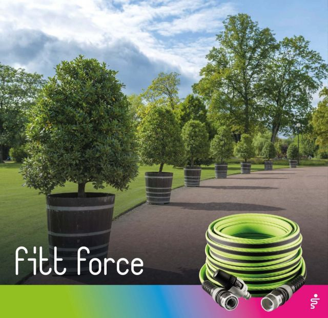 You have a large garden and your old hose can't keep up? Trust FITT Force!  The NTS technology prevents the formation of knots and twists, therefore ensuring a constant water flow.  #FITT #FITTGardeningIdeas #FITTForce #poweryourjob #gardeninglife #watering #citygardening #gardeningtips #gardeninglove #gardeningisfun #gardeningismytherapy #gardeningknowhow #gardeninggoals #gardeningmeakesmehappy