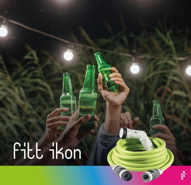 What could be better than a drink with friends to celebrate an achievement? Crumbs, stains and after-entertainment mess needn't be a worry: that's what FITT Ikon is for. One sweep and everything is back to normal.  #FITT #FITTGardeningIdeas #FITTIkon #FITTcoloryourlife  #FITTIkonextendablehose #coloryourpassion #extendablehose #watering #gardeningtips #urbangardening #homegarden #fiesta #homeparty