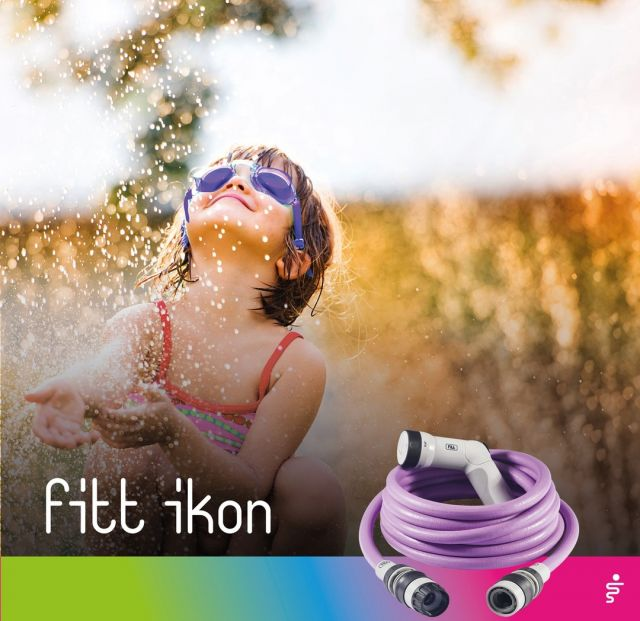The hot summer is here, and so the desire for water games in the garden. 🌞💦 Balloons, water pistol, and why not...FITT Ikon too? Guaranteed fun!  #FITT #FITTGardeningIdeas #FITTIkon #FITTcoloryourlife  #FITTIkonextendablehose #coloryourpassion #extendablehose #watering #gardeningtips #watergames #warmsummer