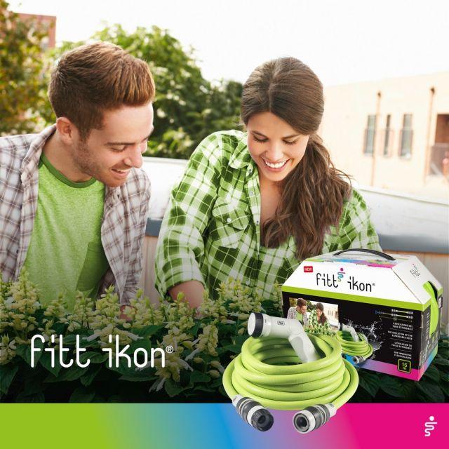 Scopri FITT Ikon Lime sul catalogo Fìdaty @esselunga  dal 12 aprile al 10 ottobre 2021. L'innovativo tubo estensibile ideale sia per attività di pulizia che per prendersi cura del proprio angolo verde. Con FITT Ikon dare colore alle tue passioni non è mai stato così semplice!