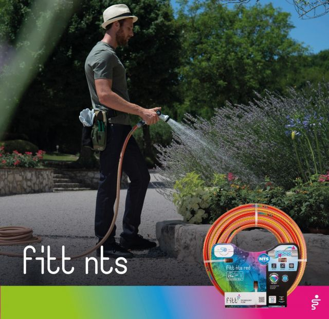Are you looking for a hose that is extremely frictionless on all surfaces, even around corners? The FITT NTS range, featuring the innovative SKY TECH technology, is the answer!  #FITT #FITTGardeningIdeas #FITTNTS #gardeninglife #watering #gardeningtips #gardeninglife #gardeninglove #gardeningisfun #gardeningismytherapy #gardeningknowhow #gardeninggoals #gardeningmeakesmehappy