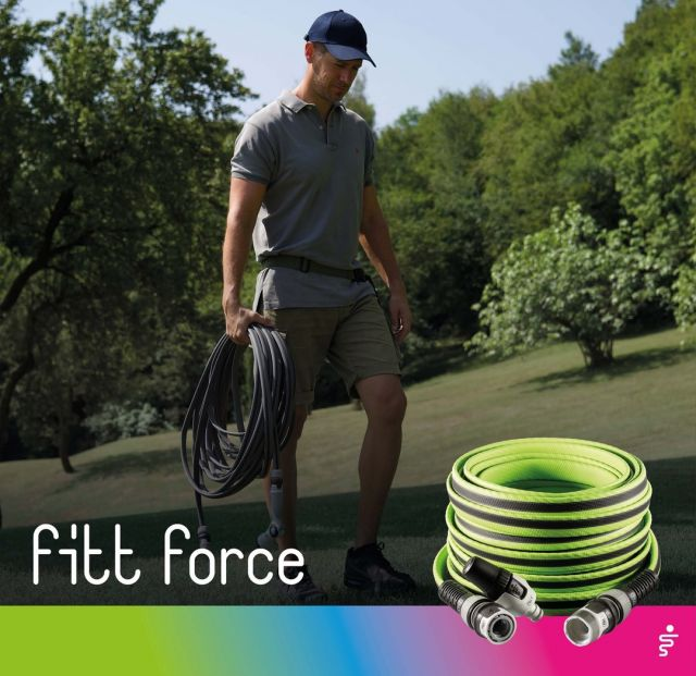 Strong and performing in every situation, but also light and compact after use. 💪 Connect, water, disconnect and empty: FITT Force returns to its original shape.   #FITT #FITTGardeningIdeas #FITTForce #gardeninglife #watering #gardeningtips #gardeninglife #gardeninglove #gardeningisfun #gardeningismytherapy #gardeningknowhow #gardeninggoals #gardeningmeakesmehappy