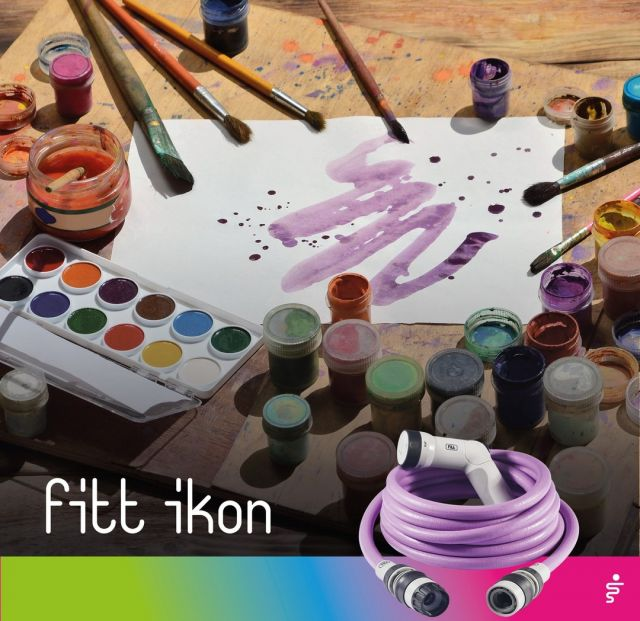Everything was perfect until the paint fell on the floor? With FITT Ikon always at the ready is problem solved: the strong jet makes the stain disappear!  #FITT #FITTIkon #coloryourpassion #FITTIkonexetendablehose #extendablehose #painting #passion